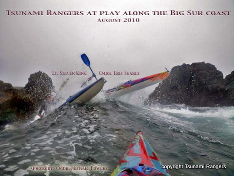 Typical Tsunami Ranger action