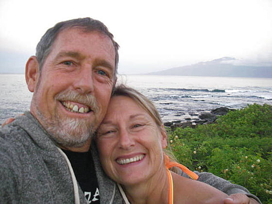 Eric and Nancy Soares took many trips to the Hawaiian Islands.