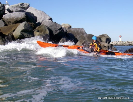 The Surge Launches The Kayak