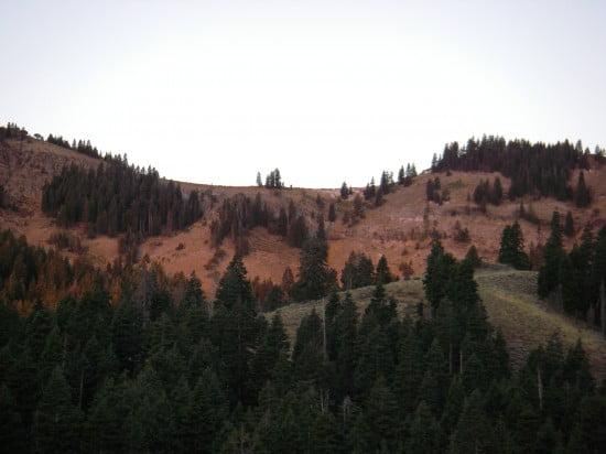 Sunrise in the Warner Mts