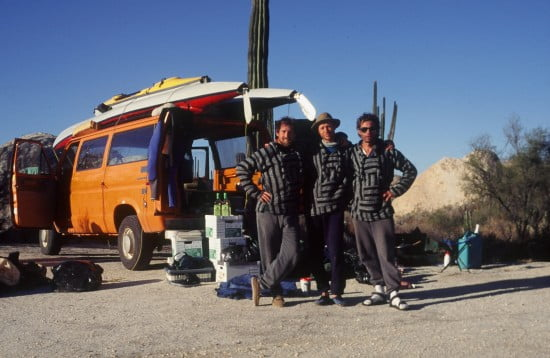 No rigid or limited patterns of thinking here - the Tsunami Rangers in Baja