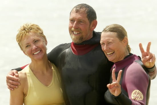 Denise, Eric, and I after the race, Miramar 2005