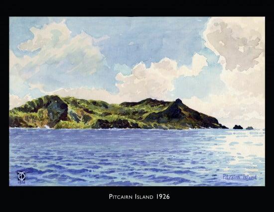Pitcairn Island in 1926