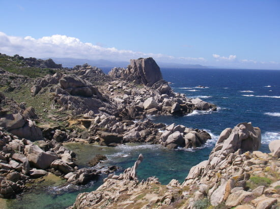 Granite formations at Capo Testa
