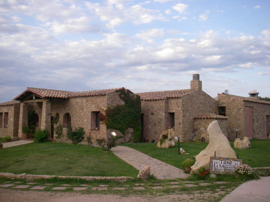 "The ""Fox's Burrow"" Hotel in the uplands of Sardinia"