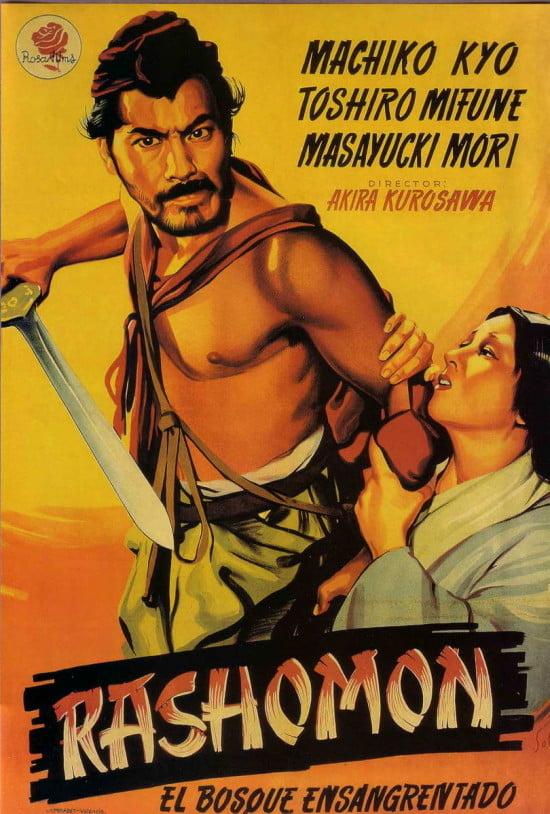 """Toshiro Mifune in """"Rashomon"""""""