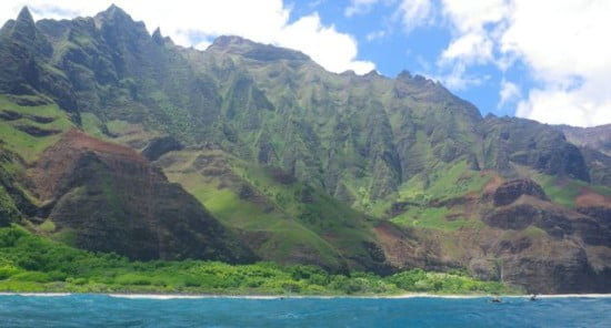 Na Pali in benign mode