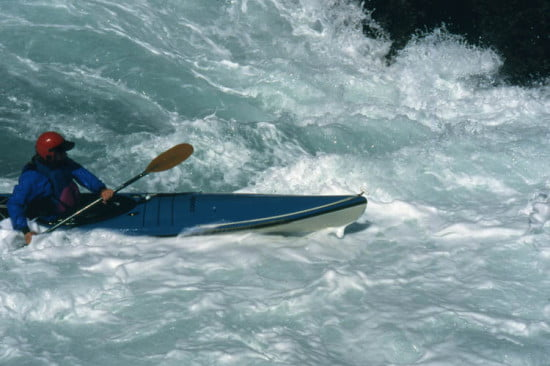 A combat roll will allow you to paddle ocean whitewater with confidence and safety