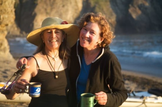TR Deb Volturno and Paula Renouf - only the best for these kayakers!