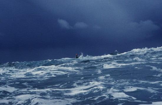 Rangers in storm seas
