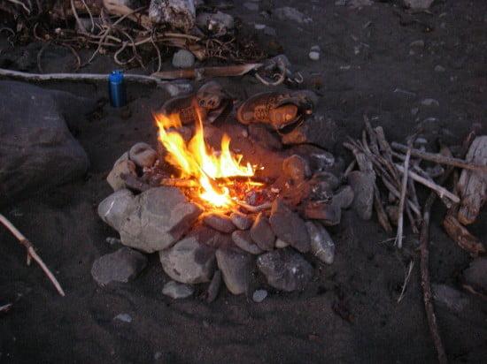 Campfire at Big Creek