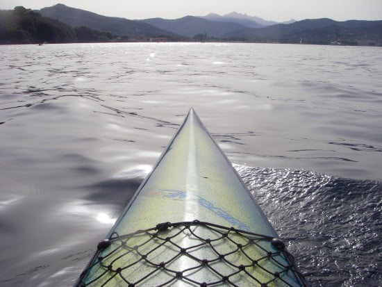Adventure beckons the kayaker in Elba