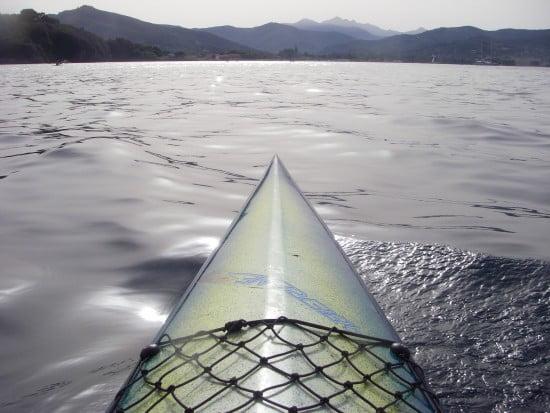 Adventure beckons the kayaker in Elba