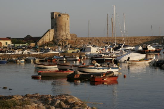 Marciana Marina complete with crenellated battlements