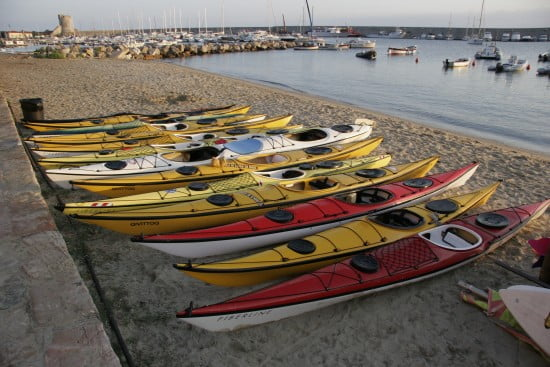Kayaks for your pleasure at Marciana Marina