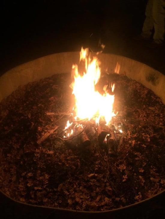 Gotta have the campfire