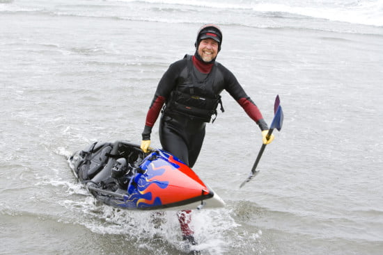 Kayak Brother Second to None -Eric Soares at Sea Ranch