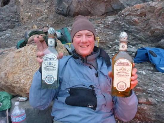 TR Scott Becklund, a happy camper