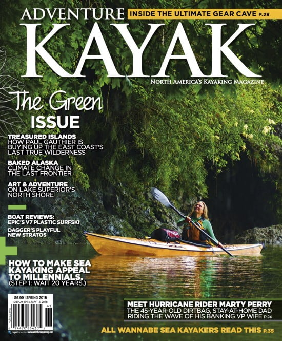The Green Issue of Adventure Kayak Magazine