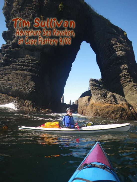 TR Tim Sullivan at Cape Flattery