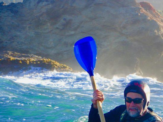 The Captain on retreat, Mendocino 2018