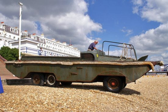 A Dukw boat