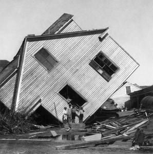 Galveston after the flood of 1900
