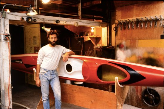 In the Berkeley shop in 1986 with the early X-1