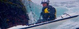 Commander Becklund werking it in his trusty Pearl