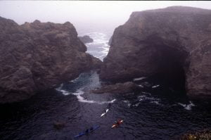 Mendocino cave sequence