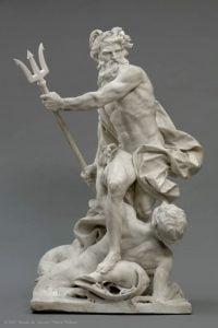 Neptune Calming the Waves by Augustin Pajo, 1767