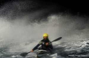Capt. Kakuk on a Wave in a Cave