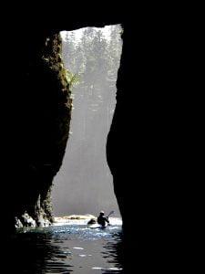 Transcendental cave