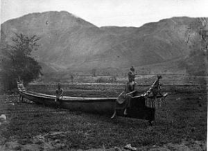 Traditional boat (circa 1870), photograph by Kristen Feilberg.