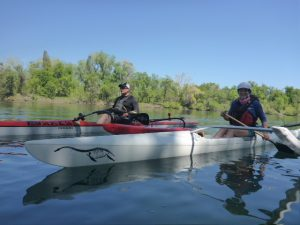 Our intrepid OC paddlers