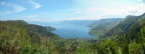 Lake Toba as seen from the north (Picture by Adonara Mucek)