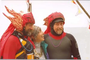 Michael and his wife the Angel Nani with Eric in 2003